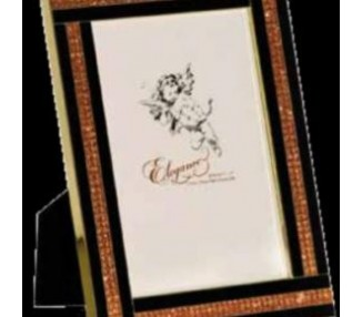 Cornice oro strass 20x25 cm