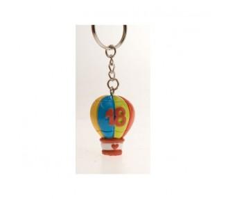 Mongolfiera color p/chiavi 18° (12/576)