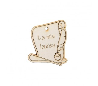Laurea legno gr. Cm.7 (12/144/1440)