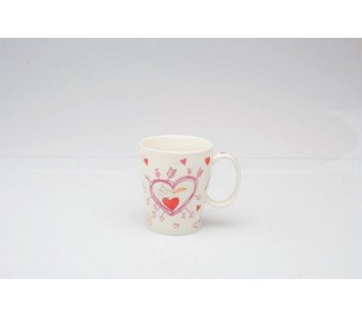 Tazza da latte capienza cc 330 linea Pop Love