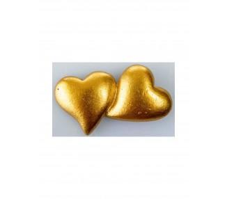 Magnete cuoricini oro