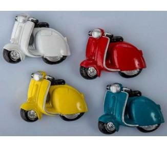 Magnete scooter 4 colori