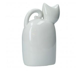 Gatto cm 21,5h petit bianco