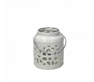 Lanterna cilindr. cm 10 h12 acanto a af0810