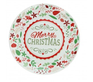 Piatto panettone christmas