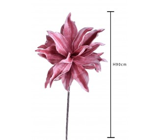 Giglio singolo 90 cm Pink - rosa