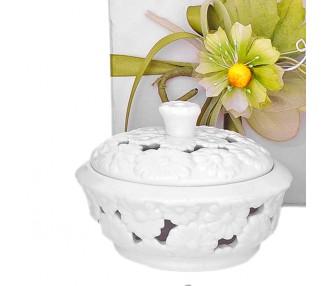 Bianco scat.t.da bassa +fiore+petali