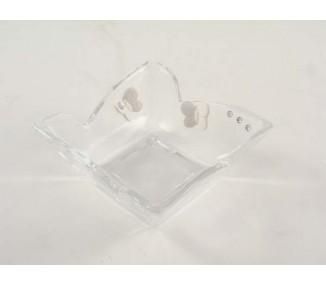 Ciotola punte cristallino 10x10x4,5 cm